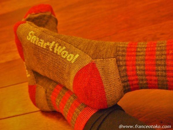 スマートウール 靴下 温かい