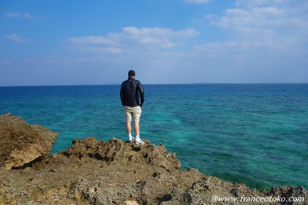 久高島 海が青い