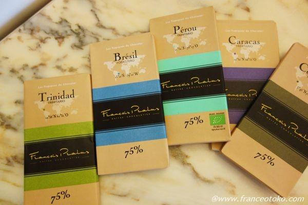 フランソワプラリュ チョコレート