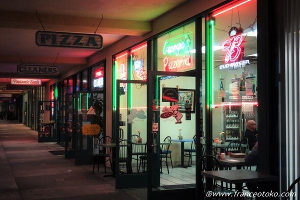 アメリカ ロサンゼルス ピザ