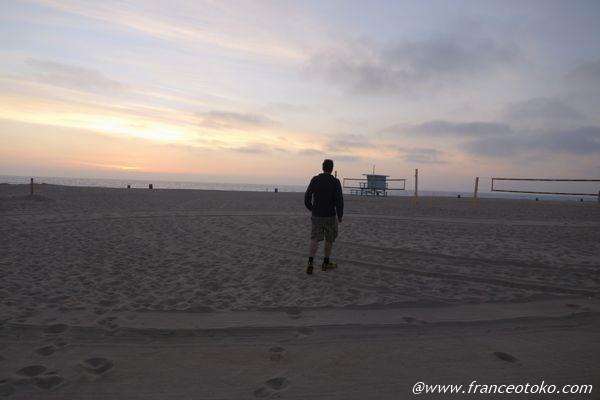 レドンドビーチ 走る