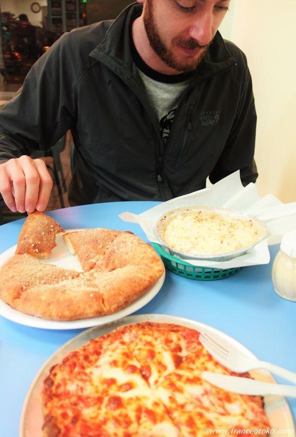 アメリカ ピザ屋