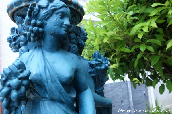 イタリア 銅像 オシャレ