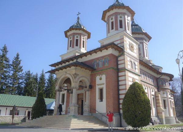 シナイア僧院 観光