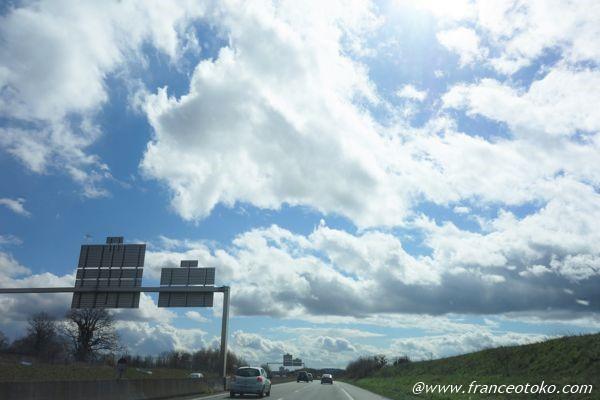 イルドフランスの雲