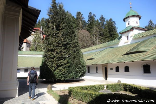 シナイア僧院 内部