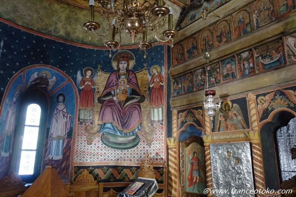 ルーマニア正教会 宗教画