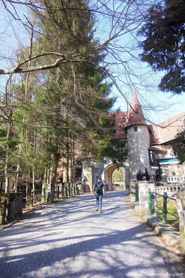 ルーマニア ペレシュ城