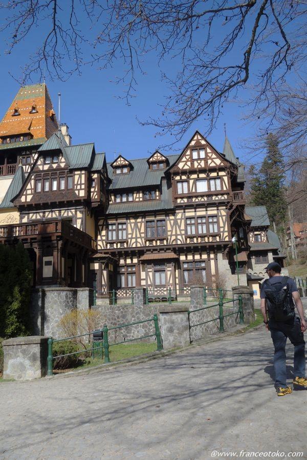 ドイツ・ルネサンス様式の宮殿 ルーマニア