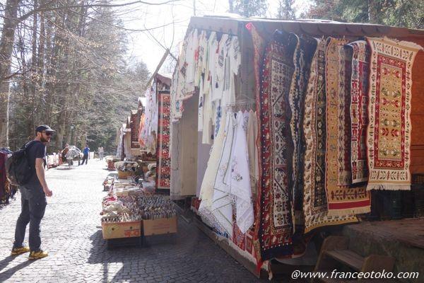 ルーマニア 刺繍 カーペット