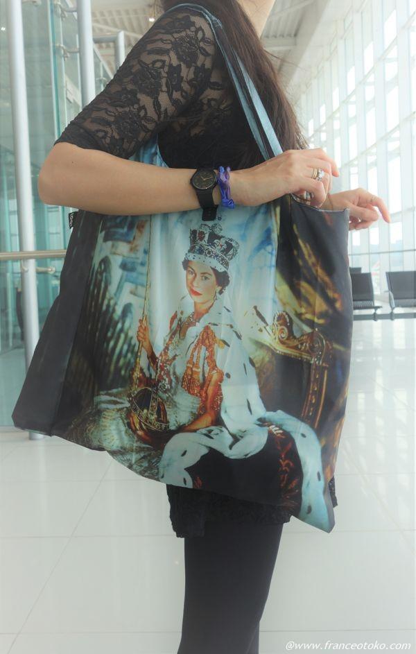 エリザベス女王 エコバッグ