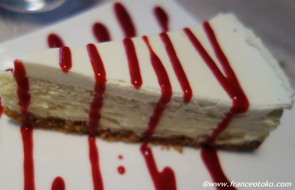 Le fameux cheesecake de Chez Rachel パリのおいしいチーズケーキ