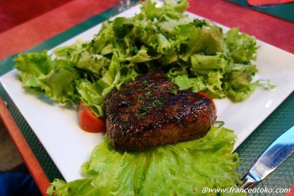フランス ステーキ
