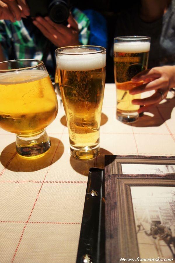 シャモニー レストラン ビール