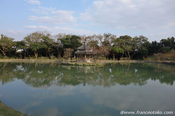 識名園 庭園 日本 観光