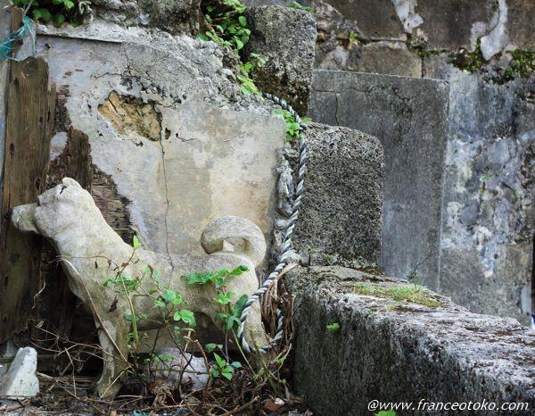 沖縄 犬 石