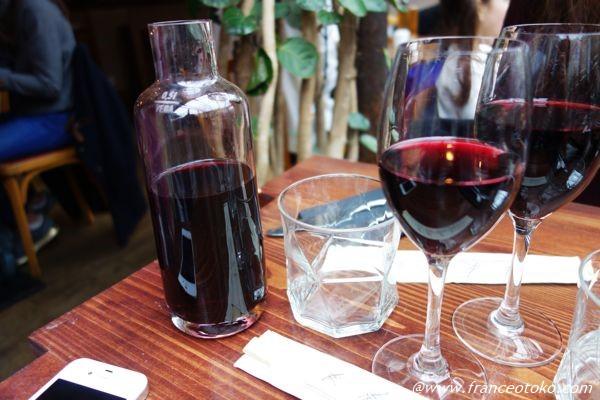 パリ ビストロ ワイン