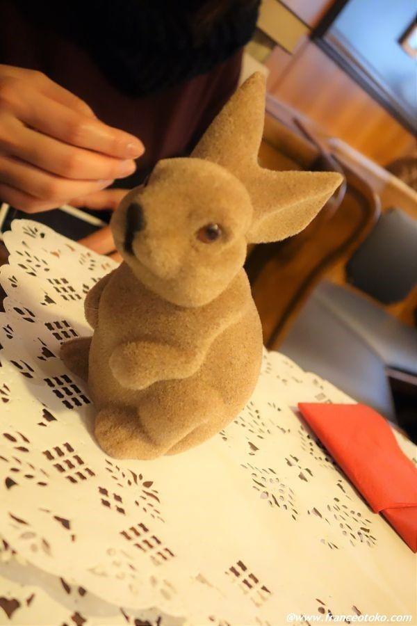 ウサギ パック フランス