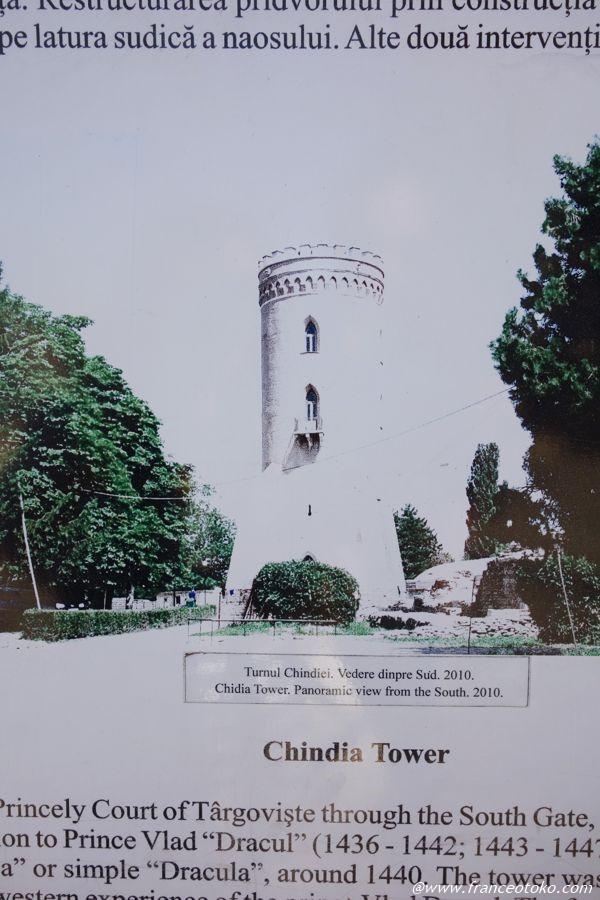 キンディア塔 ルーマニア観光