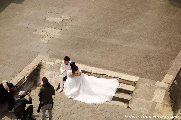 パリで 結婚