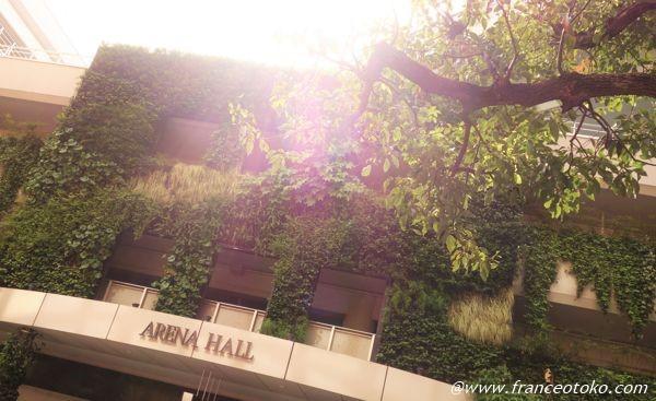 東京の緑が好き