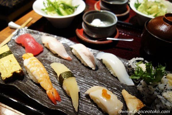 銀座 寿司ランチ