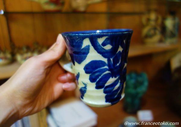 沖縄 ブルーの食器