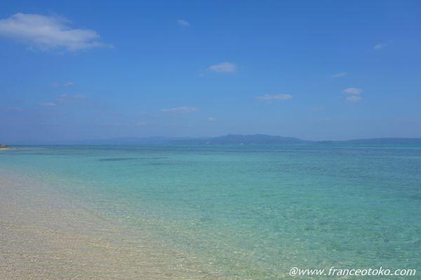 古宇利島  海 きれい