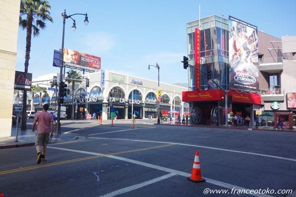 ハリウッド大通り