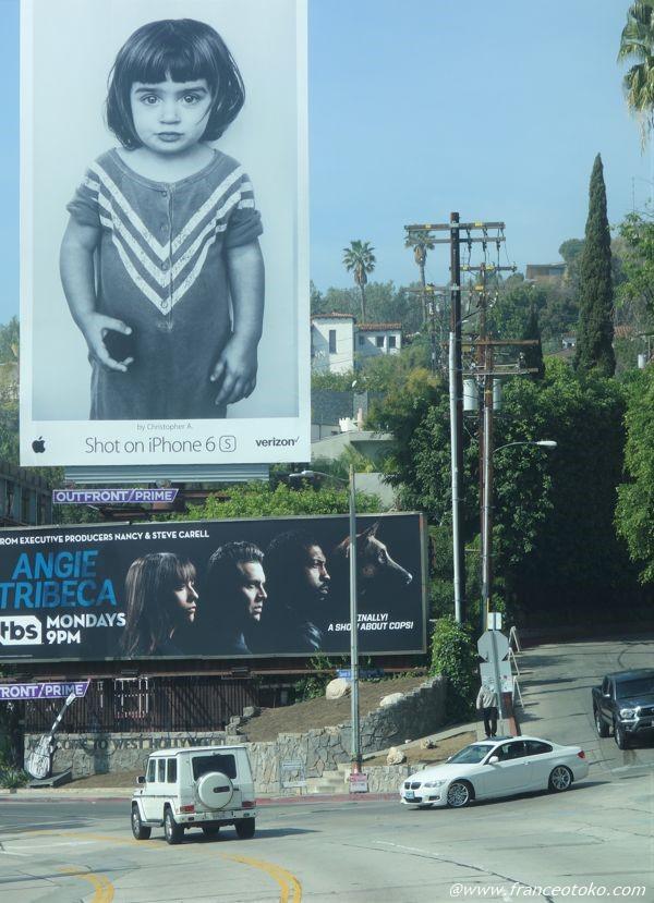 ロサンゼルス かわいい看板