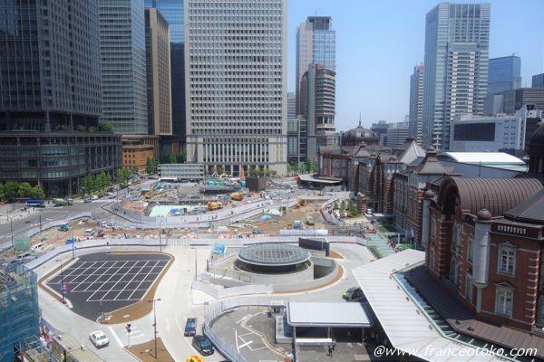 東京駅 工事中