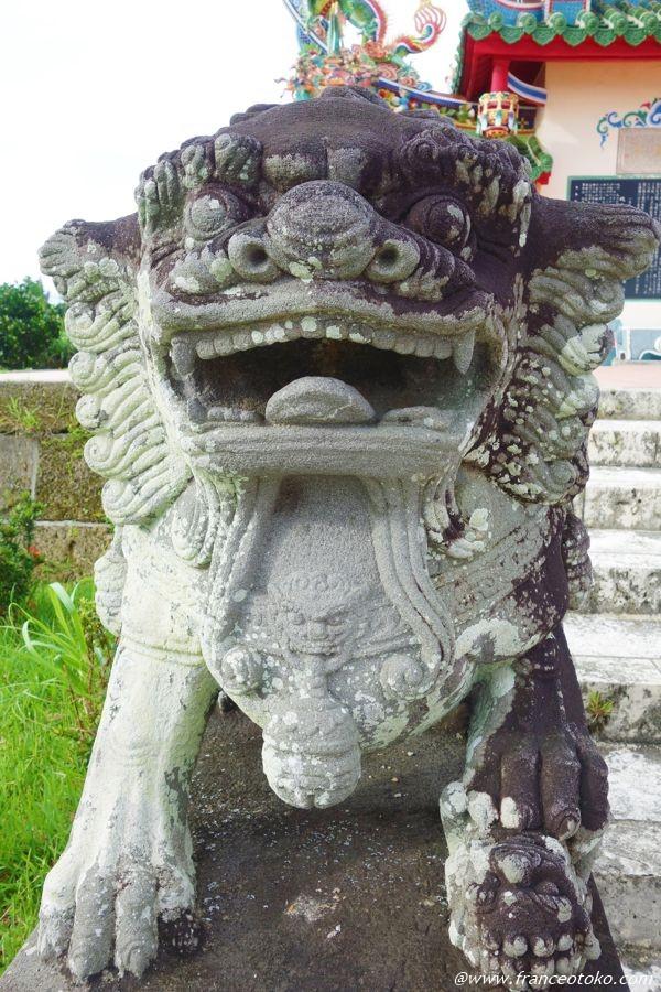 唐人墓 獅子