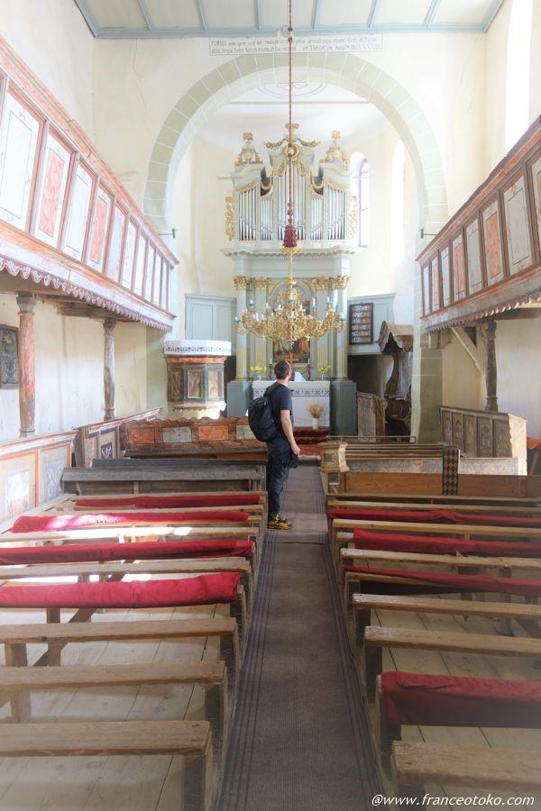 ヴィスクリ要塞教会 ルーマニア