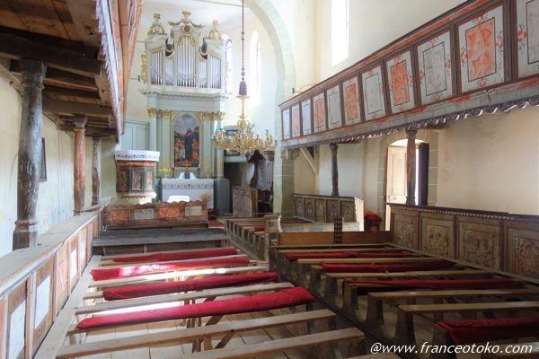 ルーマニア 世界遺産 教会