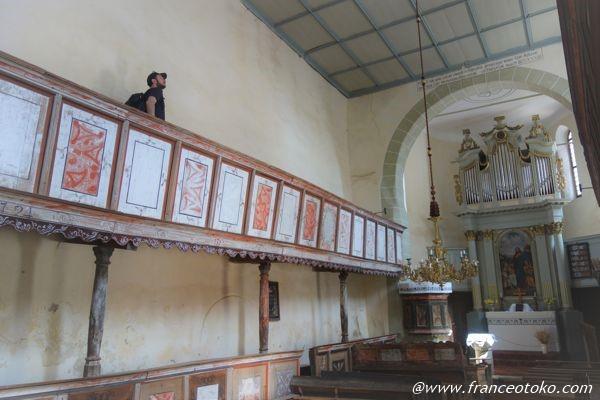 ヴィスクリ要塞教会 ルーマニア観光