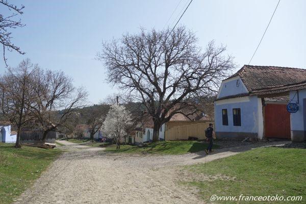 ルーマニア 世界遺産の集落