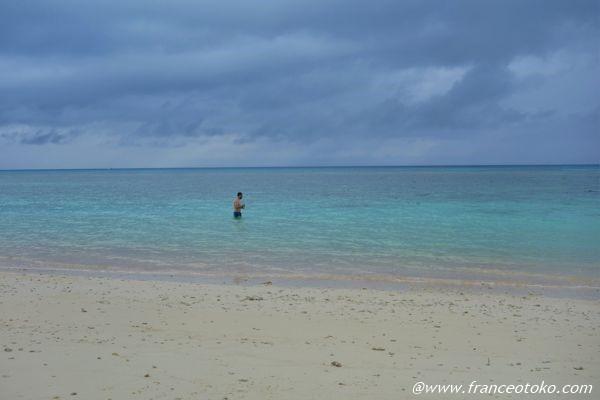 波照間島 海水浴