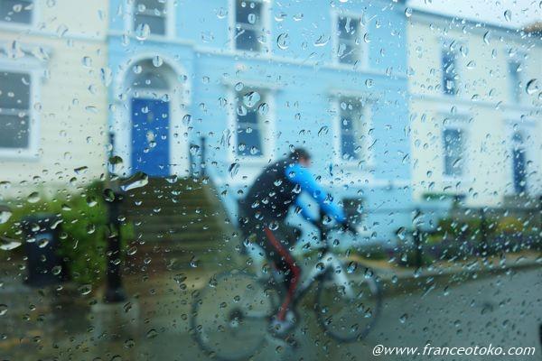 アイルランド 雨