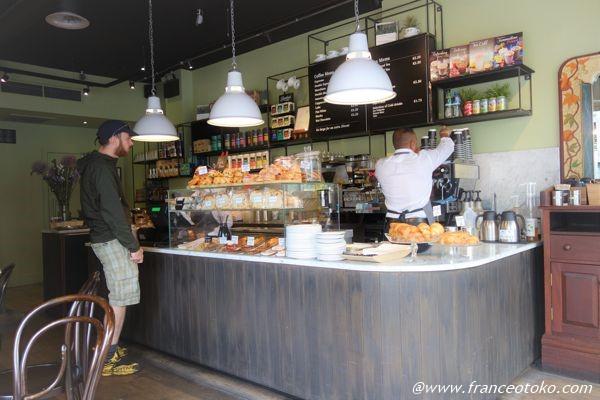 ダブリン かわいいカフェ