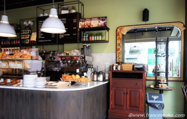 アイルランド ダブリン カフェ