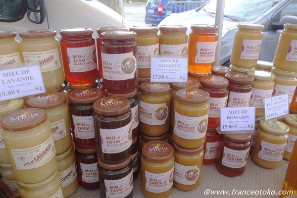 フランスのおいしいハチミツ