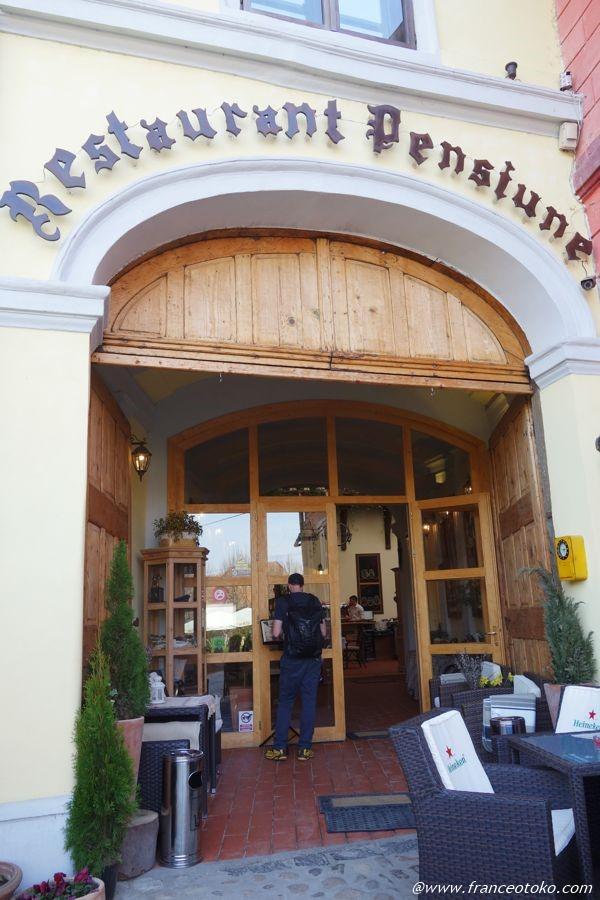 シギショアラ レストラン