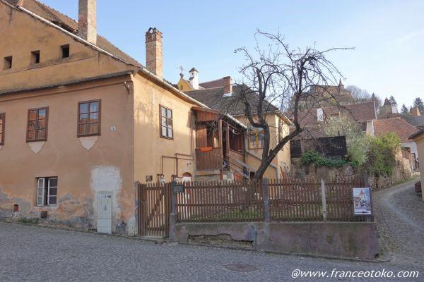 シギショアラ ルーマニア世界遺産