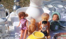 フランス 蚤の市 人形