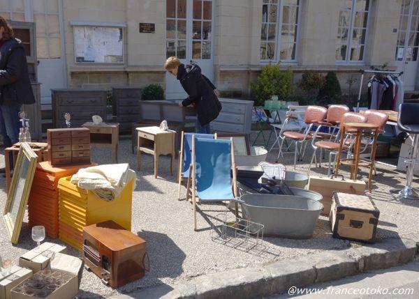 フランス 蚤の市 家具