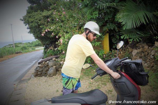 波照間島 バイク