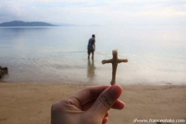 十字架 珊瑚