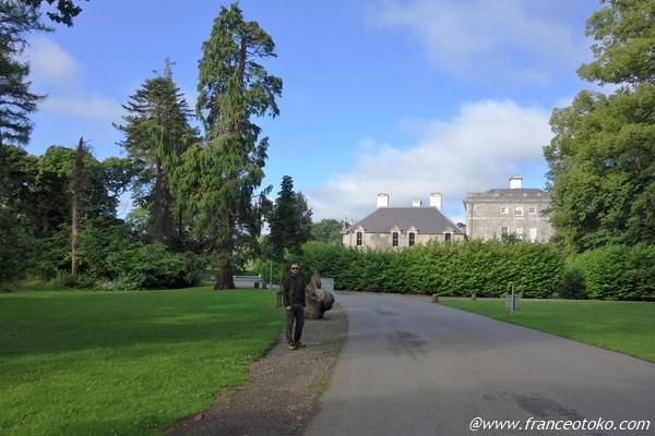 キャッスルタウンハウス アイルランド 自然散歩