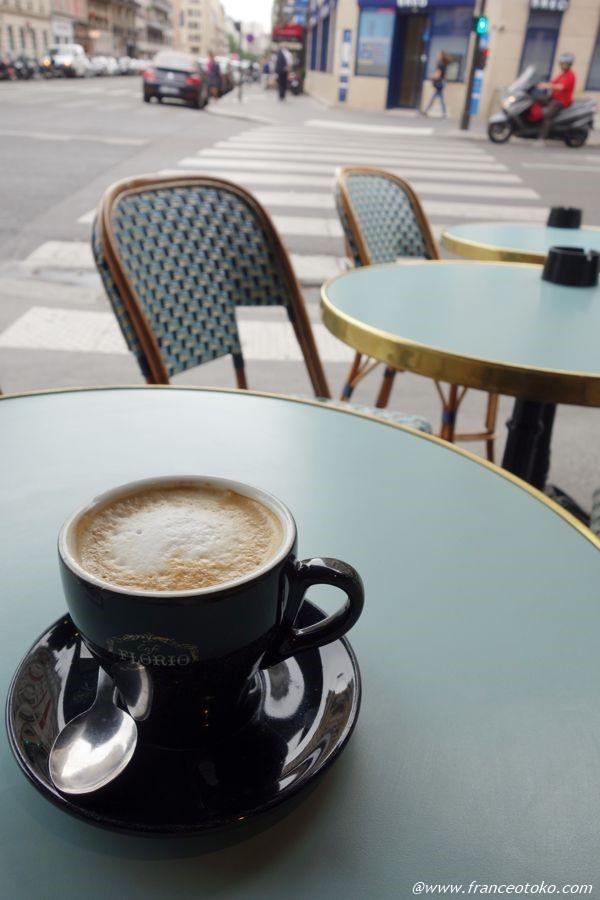パリ カフェクレーム