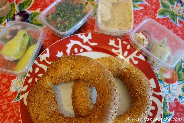 ギリシャ料理 パン